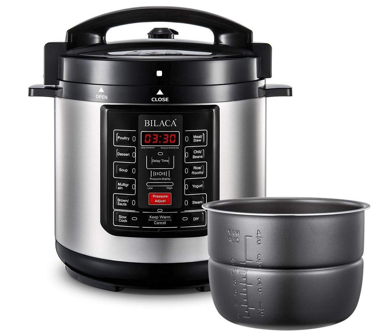 bilaca nonstick pressure cooker