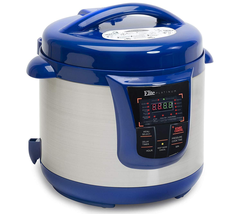 elite platinum 8 quart 14-in-1 pressure cooker