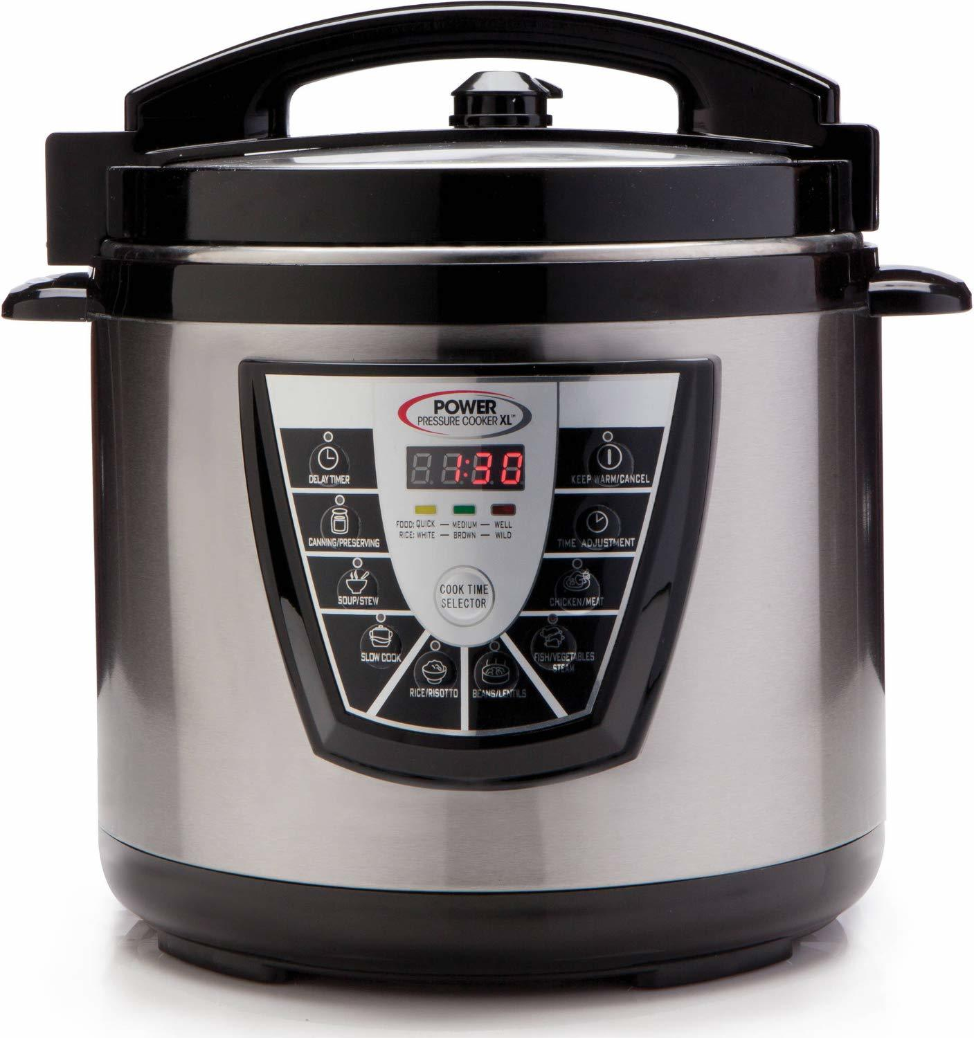 power pressure cooker xl 10 quart