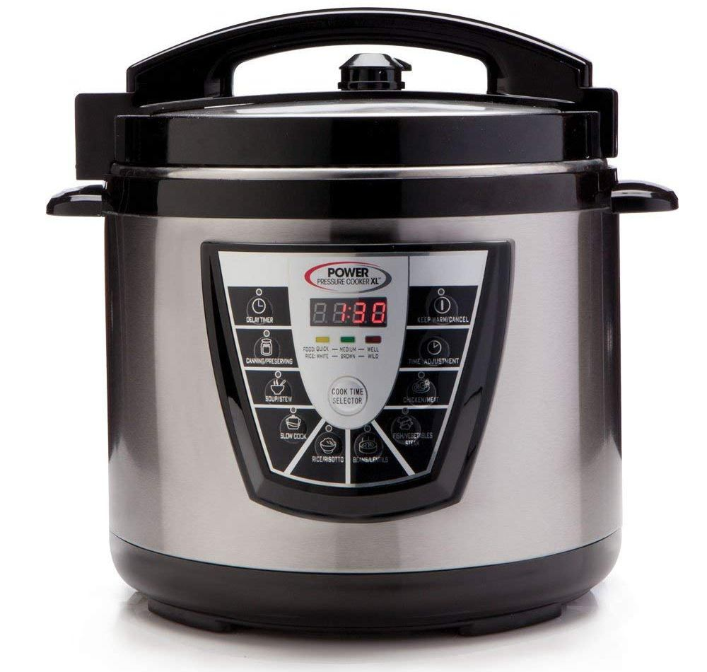 power pressure cooker xl steam slow cooker
