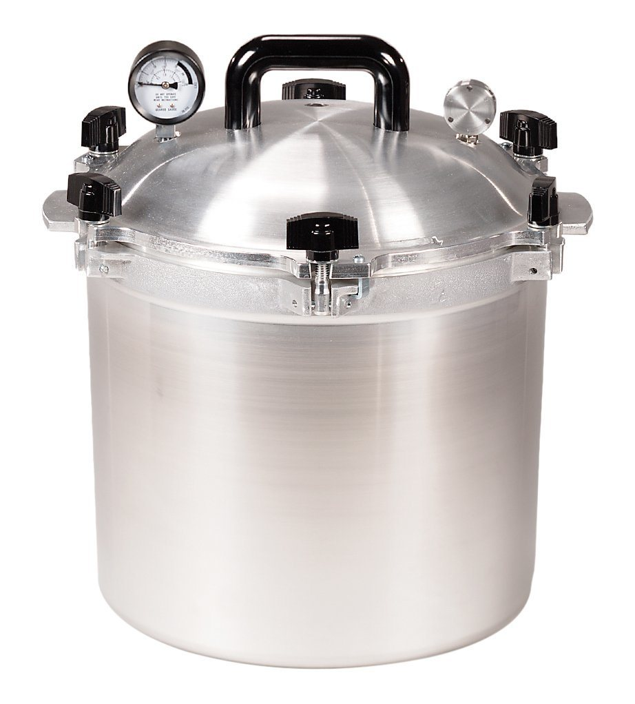 21 ½  quart all american pressure cooker