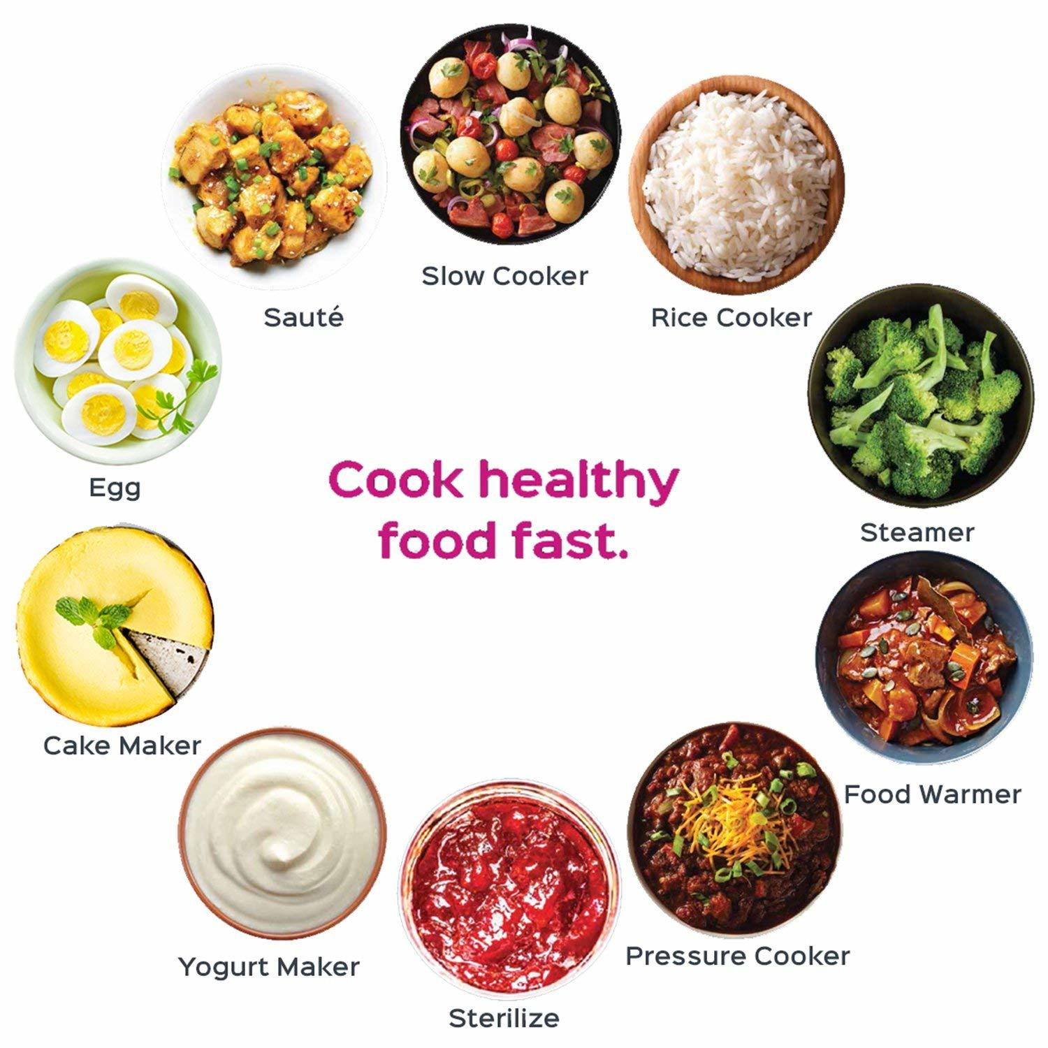cook healthy food fast