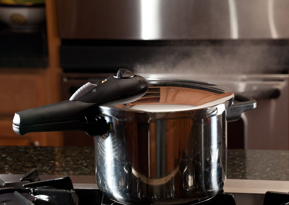 pressure cooker steam