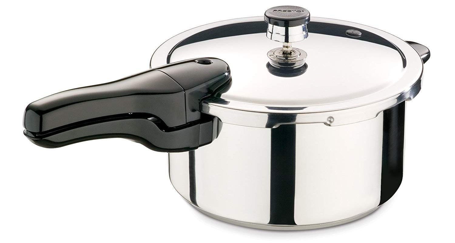 presto 4 quart stainless steel pressure cooker