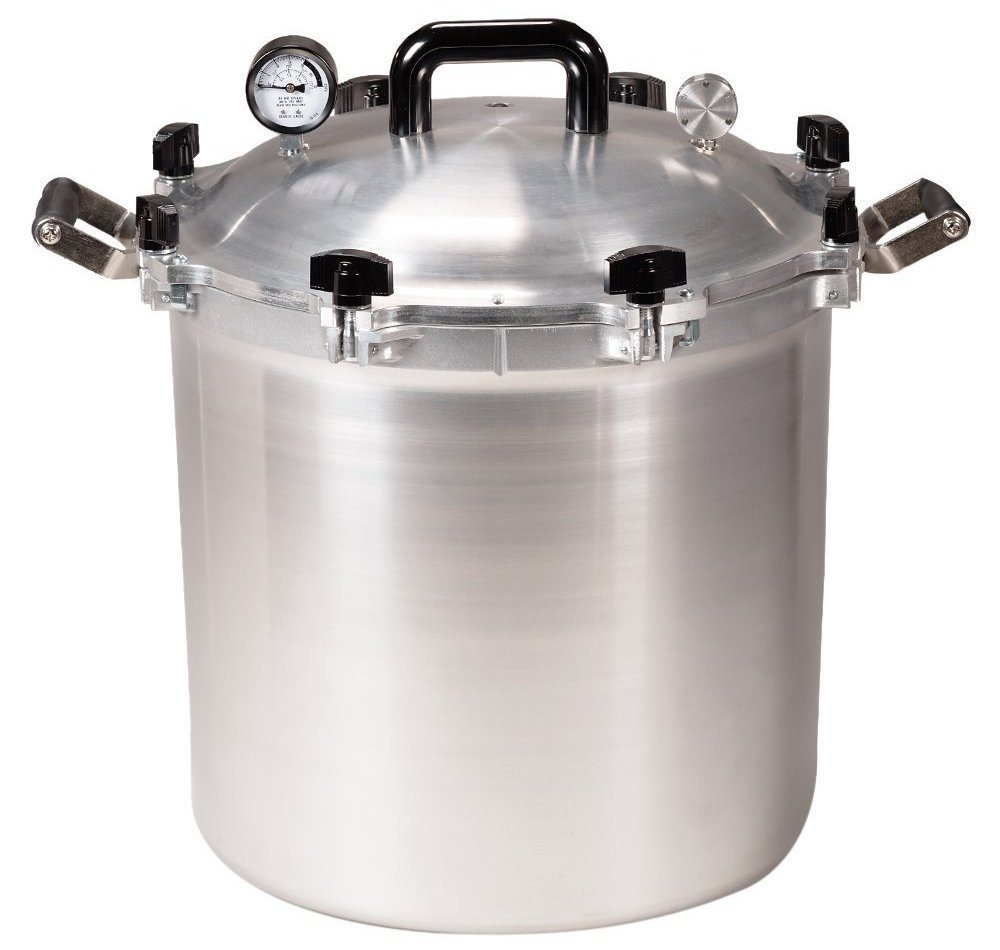 all american 41.5-quart pressure cooker canner