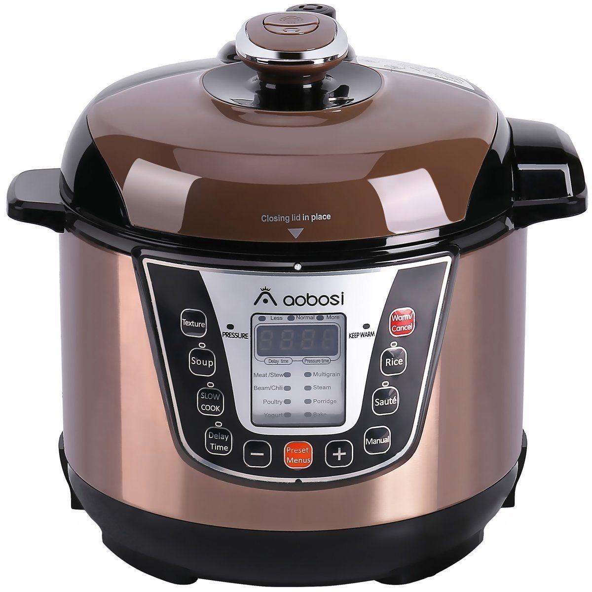 aobosi 8-in-1 mini pressure cooker