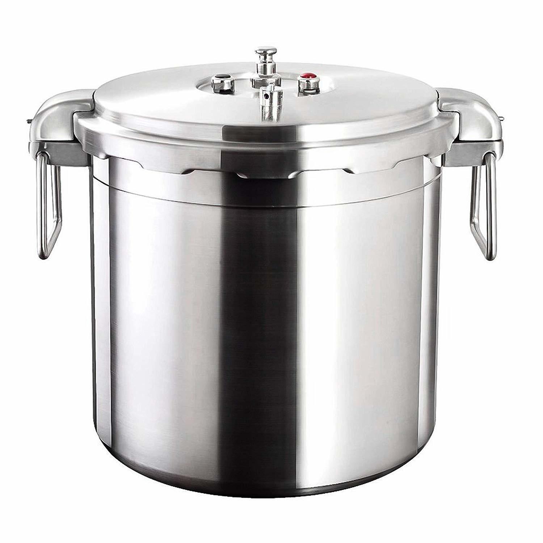 buffalo 32-quart stainless steel pressure cooker