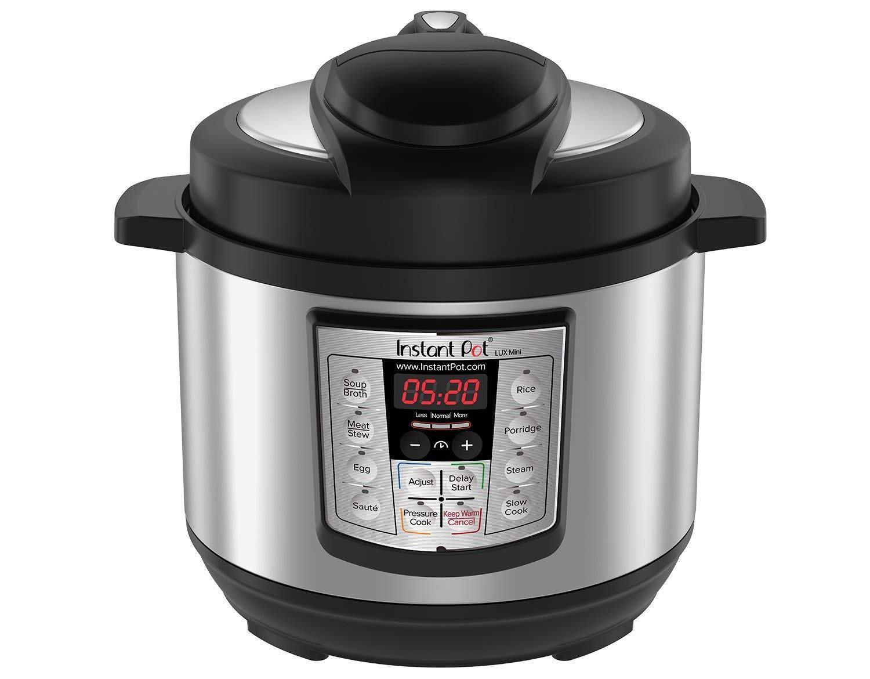 instant pot lux mini 3-quart programmable pressure cooker