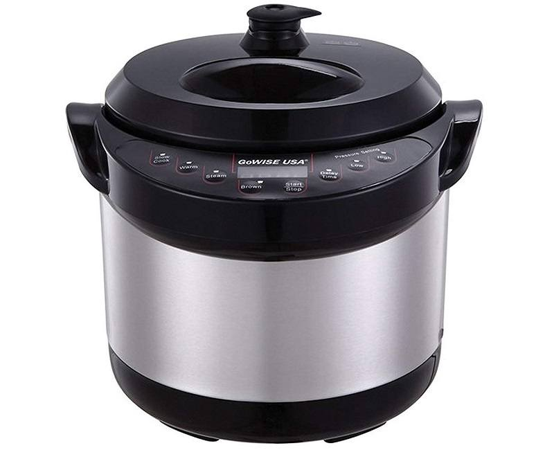 gowise stainless steel 6 in 1 pressure cooker